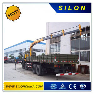 Silon Sq14zk4q 14t Folding-Arm Truck Mounted Crane pictures & photos
