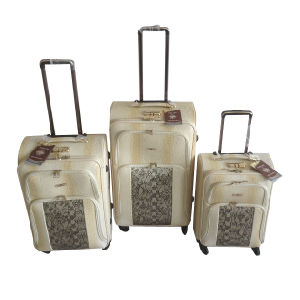 PU Leather Bags Trolley Case Luggage Jb-D010 pictures & photos