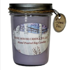 8oz Candle Jar with Meta Lid