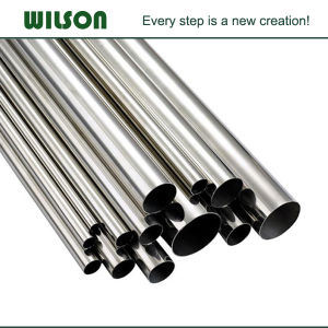 Stainless Steel Polished Seamed Ss Pipe pictures & photos