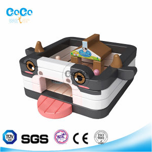 Cocowater Design Kids Inflatable Cow Theme Bouncer LG9035