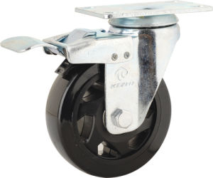 Medium Duty Type PVC Caster Wheel (KMx4-M14) pictures & photos
