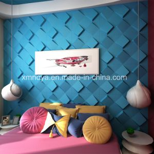 Modern Wall Art Decor Blue 3D Wall Panel for Interior pictures & photos