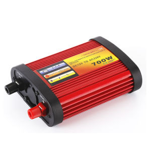 700W Solar Power Inverter Red Color pictures & photos