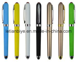 Superb Plastic Gel Ink Pen Touch Stylus (LT-C721) pictures & photos