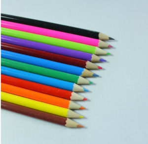 Wooden Color Pencil for School Stationery Supply pictures & photos