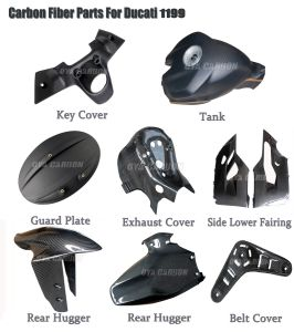 Carbon Fiber for Ducati 1199 Products Series pictures & photos