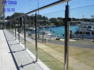 Modern Stainless Steel Glass Balustrade pictures & photos