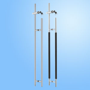 Stainless Steel Glass Pull Handle Lock (FS-1801) pictures & photos