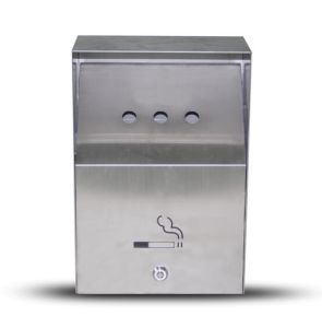 Stainless Steel Wall Mount Outdoor Ashtray
