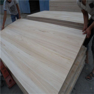 Factory Price Edge Glued Paulownia Solid Wood