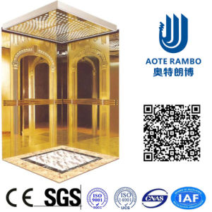 AC-Vvvf Drive Gearless Traction Mrl Passenger Elevator (RLS-143) pictures & photos