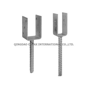 U-Type Post Down/U-Type Post Support/U-Type Pole Anchor pictures & photos