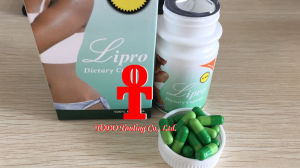 100% Natural Herbal Health Food Lipro Dietary Slimming Capsule