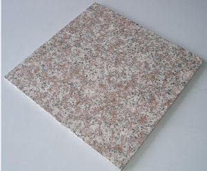 Natural Stone Red Granite Tile for Flooring with Competitive Price