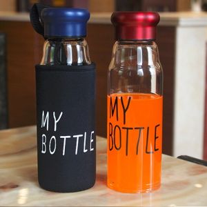 Heat-Resistant Portable Glass Cup with Lid pictures & photos