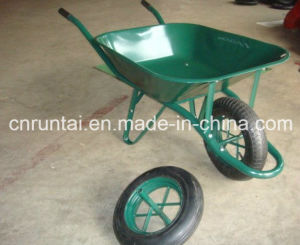 Hot Sale Strong Green Color Wheel Barrow (Wb6400) pictures & photos