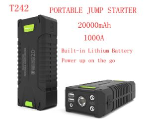 20000mAh 1000A Peak Jump Starter Kit Power Bank with Car Accu Jump pictures & photos