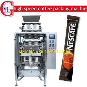 Instant Coffee Powder Packing Machine (500 bags/min) pictures & photos