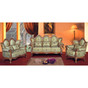 Fabric Sofa with Wood Sofa Frame / Sofa Set (YF-D172)