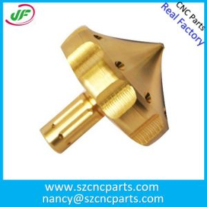 CNC Machining Turning Brass Parts with High Polished Rapid Prototyping pictures & photos