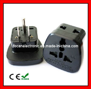 2 in 1 Universal Travel AC Power Plug Adapter with Safety Shutter pictures & photos