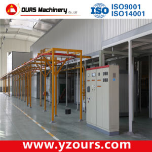 Electrical Control Cabinet in The Powder Coating Line pictures & photos