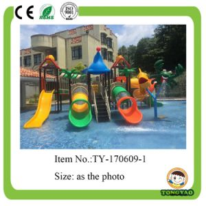 Plastic Tube Slide Water Park Playground (TY-170609-1) pictures & photos