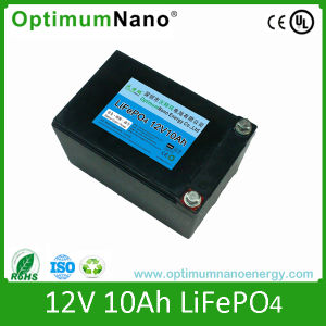 12V 10ah LiFePO4 Battery for LED Light with PCM pictures & photos