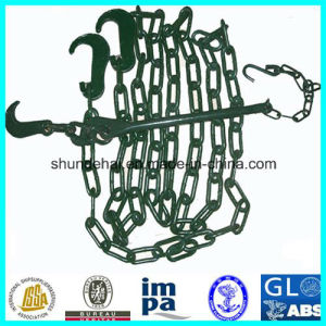Container Lashing Chain/ Cargo Lashing Chain with Tensioner pictures & photos