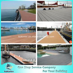 WPC Co-Extrusion Decking Anti-UV Wood Plastic Composite Flooring pictures & photos