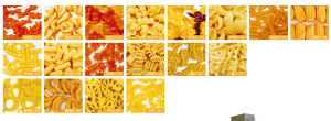 Single Screw Crispy Pea/Screw/Shell/Potato Food Process Line pictures & photos