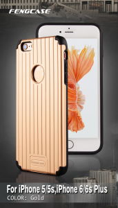 Hot Mobile Phone PC Combo Hard Cases Covers for iPhone 6 6s Plus pictures & photos