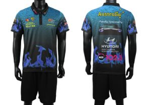 100% Polyester Sublimated Football Jersey/Soccer Shirts pictures & photos