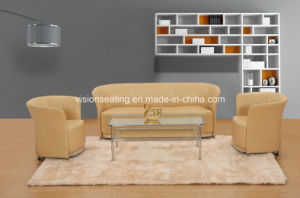 Modern Design Leather Office Furniture Couch (9032) pictures & photos