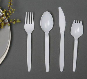 Disposable Plastic Tableware Cutlery Set pictures & photos