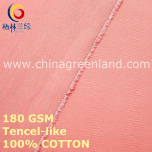 100%Cotton Twill Fabric for Woman Clothes (GLLML460) pictures & photos