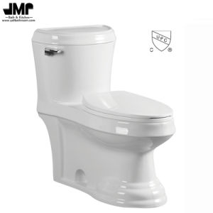 2185 Sanitary Ware Cupc Bathroom Wc Pan Siphonic One Piece Ceramic Toilet pictures & photos