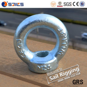 Zinc-Plated Forged Carbon Steel DIN582 Ring Nut Eye Nut pictures & photos