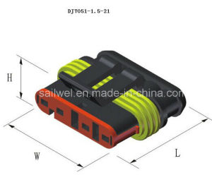 Superseal 1.5 Series Auto Connector Female Part 5 Ways