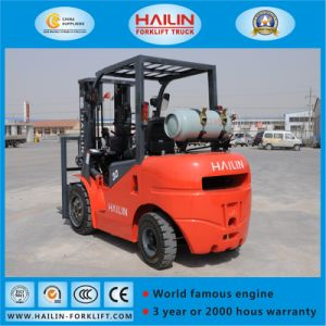 Flpg30 Dual Fuel Forklift, 3.0ton pictures & photos