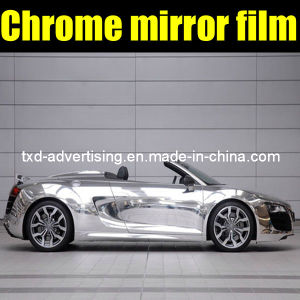 Chrome Silver Car Wrap Vinyl