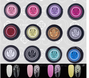 2016 Professional New Nail Art Soak off Color UV Gel Emboss Painting Gel pictures & photos