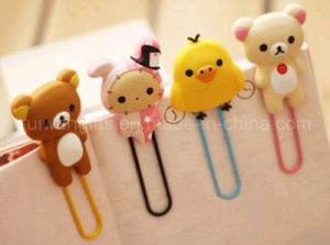 Hot Sale Cartoon Soft PVC Bookmark pictures & photos