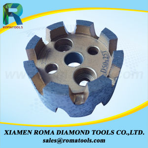 Romatools Diamond Milling Tools of CNC Stubbing Wheels pictures & photos