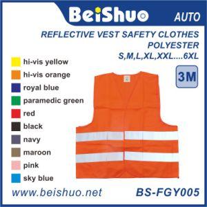 En20471 High Visibility Roadway Reflective Vest Safety Clothes pictures & photos
