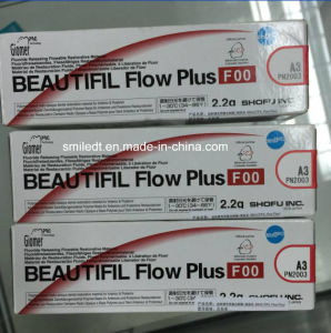Shofu Beautifil Flow Plus F00 Dental Composite pictures & photos