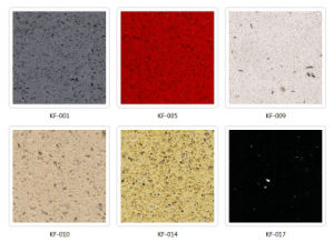Good Quality Beige Quartz Stone for Vanity Top pictures & photos