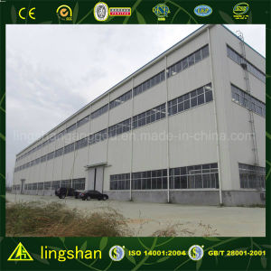 ISO Prefabricated Steel Structure Warehouse pictures & photos