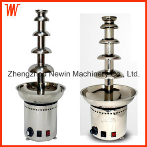 5 Tier Stainless Steel Chocolate Fondue Fountain Price pictures & photos